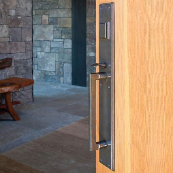 Rocky Mountain Hardware Stepped Entry Door Set