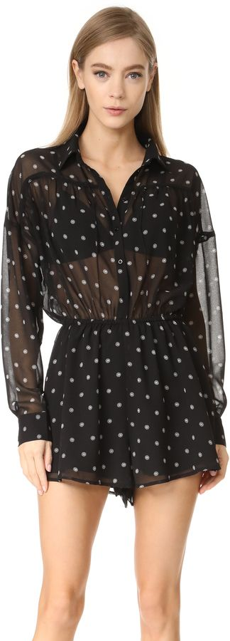 The Fifth Label Midnight Memories Playsuit