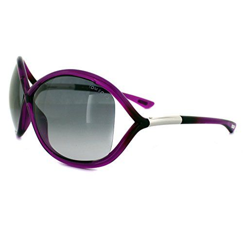 Tom Ford Whitney Sunglasses in Shiny Fuchsia FT0009S 75B 64 64 Gradient Smoke