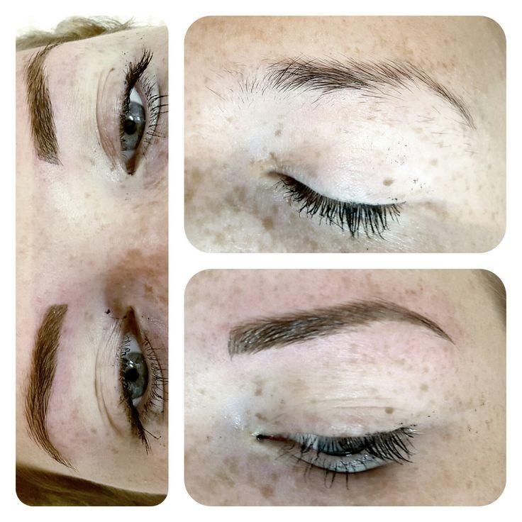 Maquillage permanent Ombrage des sourcils pour un effet poudré ...Naturel