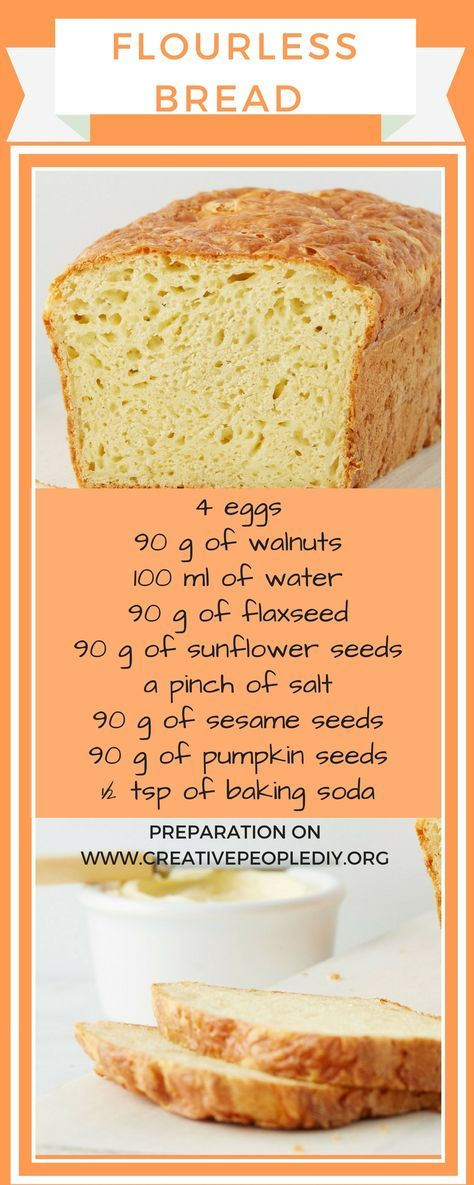 Flourless Bread (Keto Recipe)