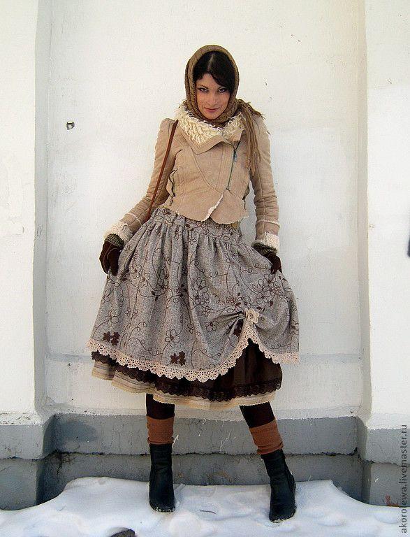 "Две пышные юбочки ""Бохо-шик"" арт 2 - бохо-шик,бохо стиль,пышная юбка,пышная юбочка"