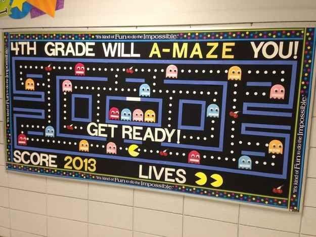 Go Retro! | 31 Incredible Bulletin Boards For Back To School