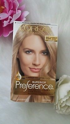 LOreal Paris Superior Preference Hair Dye Color # 8.5A CHAMPAGNE BLONDE 1 applic