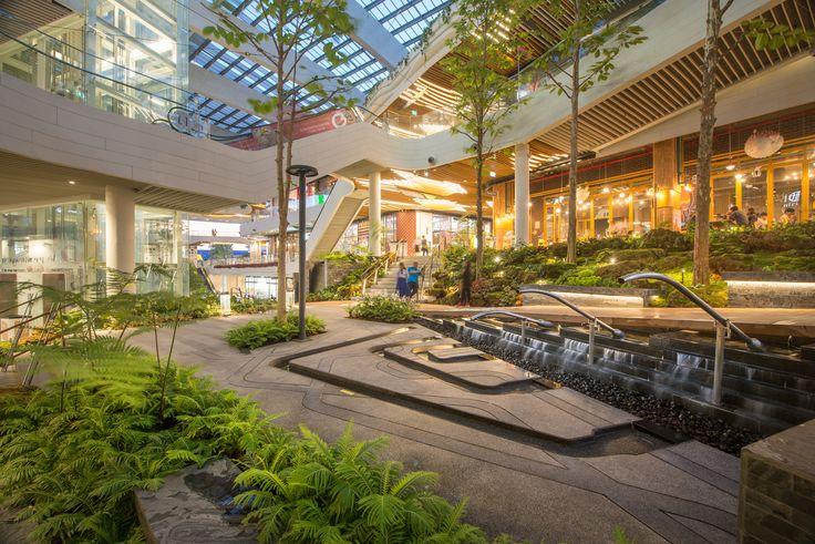 Gallery Of Mega Foodwalk Landscape Landscape