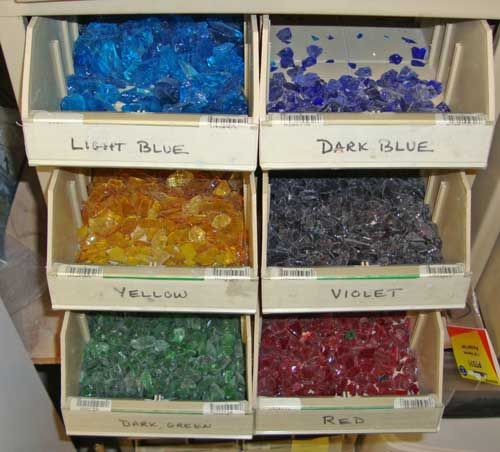 Glass type we use for fusing with pottery, Lakeside Pottery. Helpful instructions for use in a classroom situation