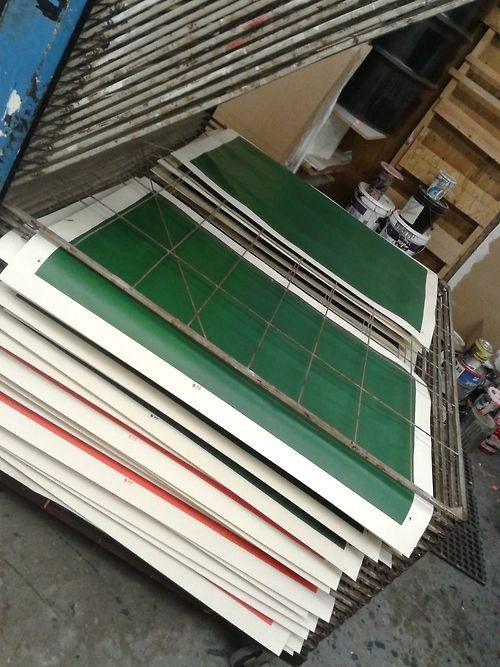 Printing some emerald green for our new installation.