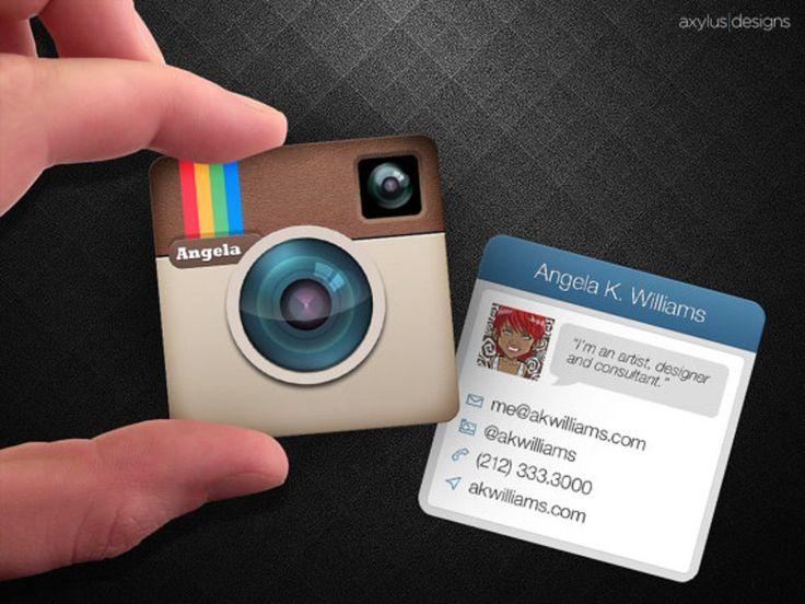Logo Instagram Carte De Visite