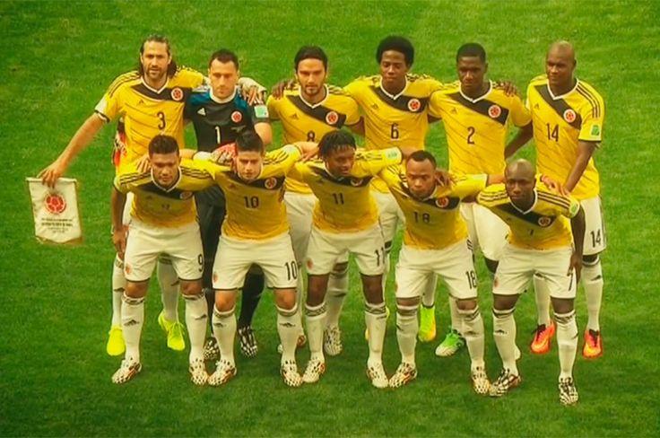 La #SelecciónColombia que grande en el MundialBrasil2014  #Brasil2014.