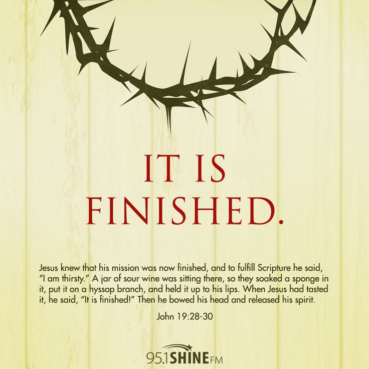 Good Friday // It Is Finished.