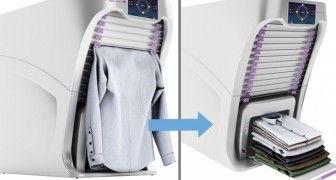 Si vous voulez un compagnon qui vous aide à repasser et plier les habits, alors vous devriez essayer FoldiMate! Il s'agit d'une invention robotique capable de repasser, désinfecter, plier et même parfumer…