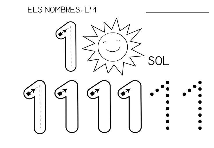 CLASSE DE LA LLUNA: El número 1