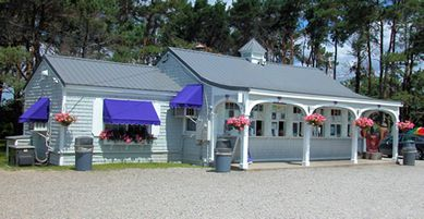 The Beach Plum - No. Hampton  Ice Cream Stand. We go there sometimes on the way home from the Beach.