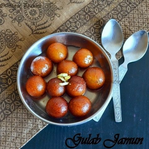 Divya's culinary journey: Gulab Jamun- from Scratch