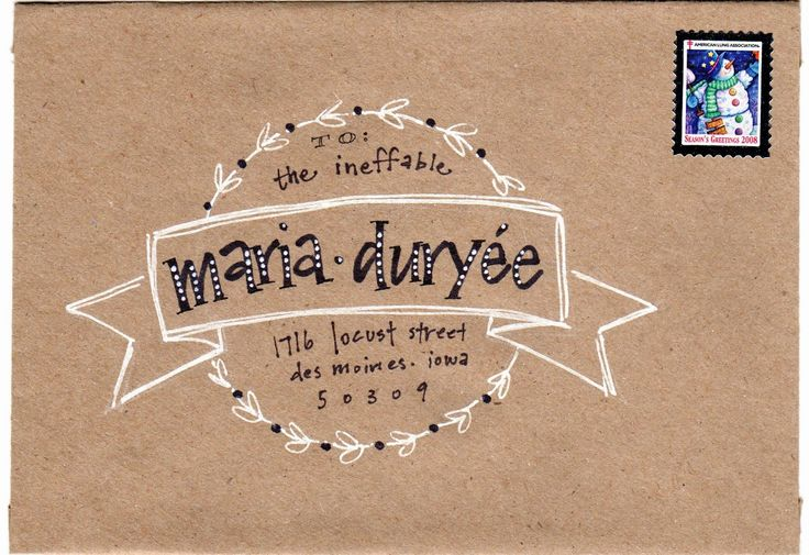 pushing the envelopes: krafty maria