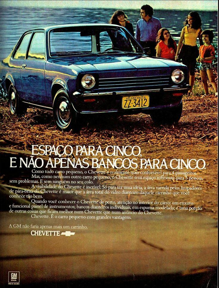 1973 Chevrolet Chevette - Brasil