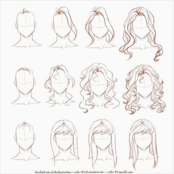 255 Drawing Hairstyle Tutorial Ideas In 2020 How To Draw Hair Curly Hair Drawing Face Drawing