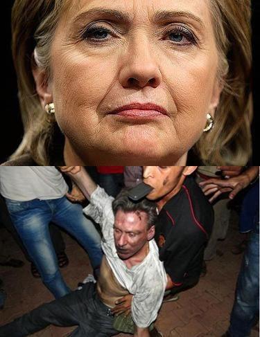 Hillary Blabbed Murdered Ambassador's Stevens Movements In Emails.