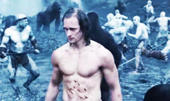 VIDEO: Tarzan trailer  No loincloth required for Alexander Skarsgard