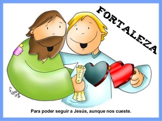 Resultado De Imagen Para Fortaleza Fano Catequesis Dibujos De Jesus Ilustraciones