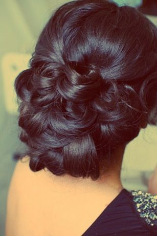 indian bride hairstyles - Google Search
