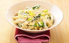 Pasta med zucchini