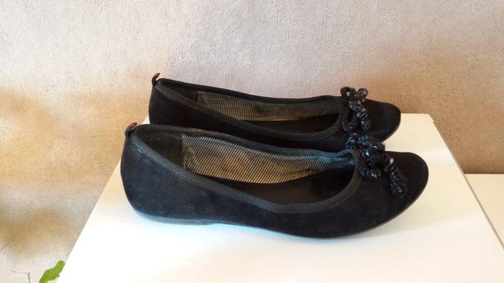 Tamaris Ballerinas schwarz mit Schleife - kleiderkreisel.de