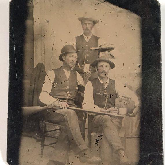 Gunslingers Having a Drink 19th Century by BittenbenderAndMoll