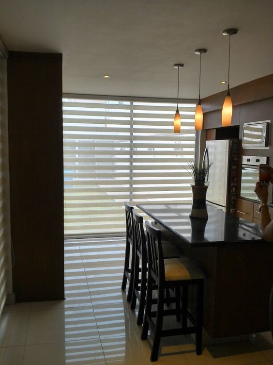 17 best images about cortinas modernas on pinterest for Cocinas minimalistas