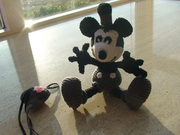 Mickey Mouse gehaakt op bestelling