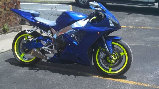 2003 Yamaha R 1 Standard , CUSTOM CANDY BENTLEY BLUE for sale in Cleveland, TN