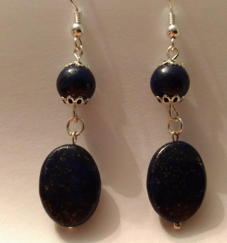 Cercei din argint cu Lapis Lazuli