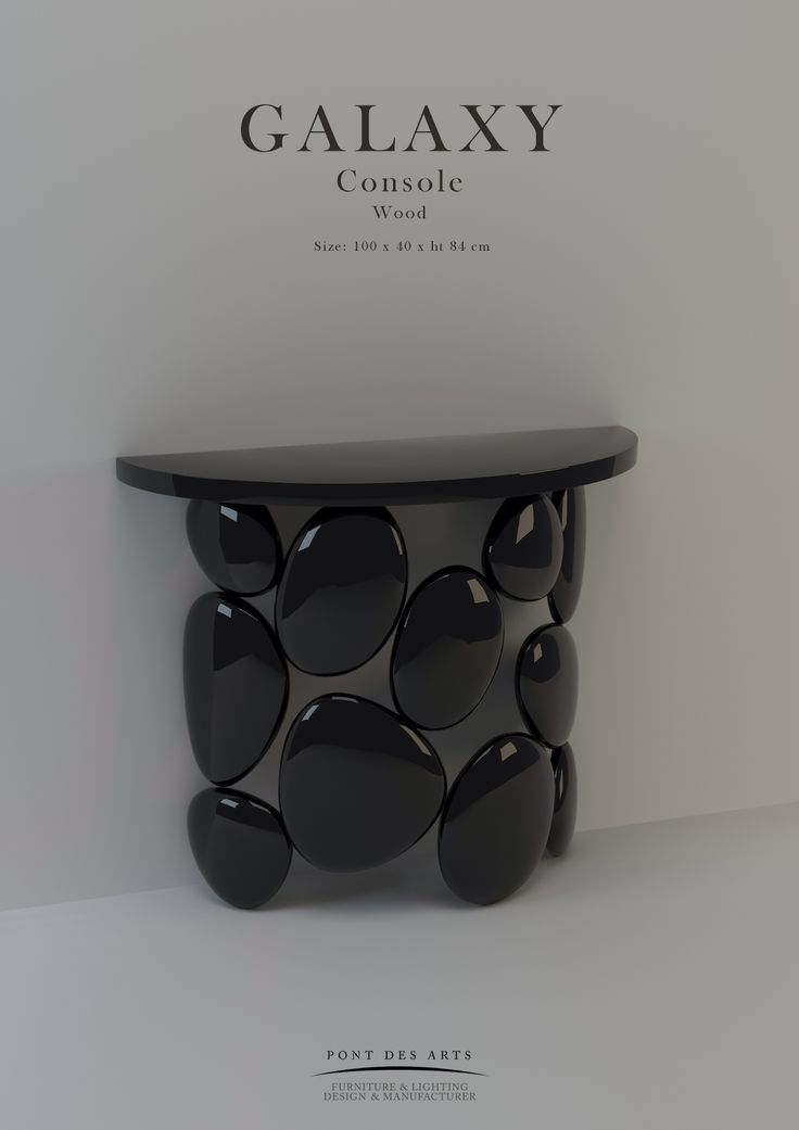 Galaxy Console - Pont des Arts - Designer Monzer Hammoud - Paris
