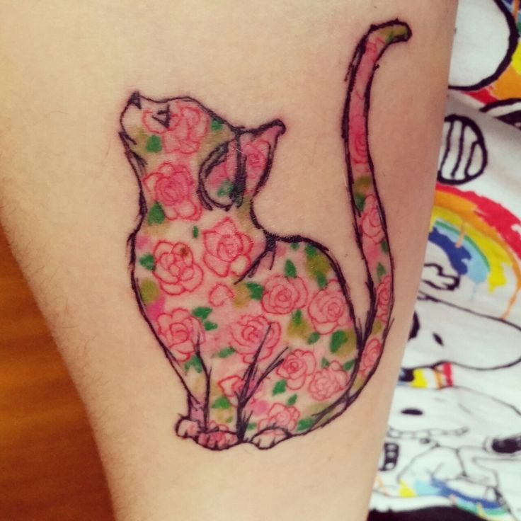 "So sweet :) Original pinner says: ""Done by Jamie at Hepcat Tattoos, Glasgow, Scotland."""