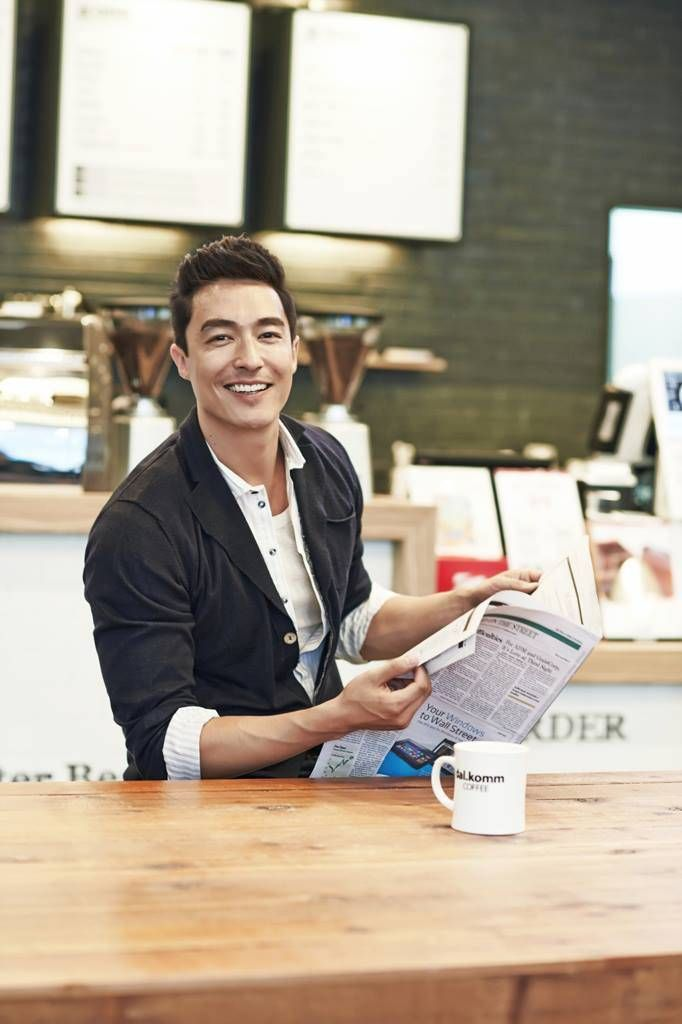 [PICS & VIDS] Daniel Henney is New Spokesperson for dal.komm COFFEE | Hermosa USA