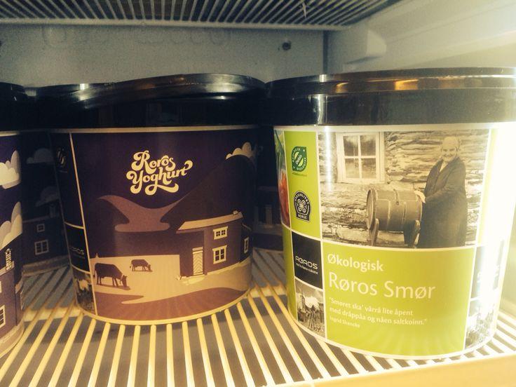 Yoghurt og smørspann - Rørosmeieriet