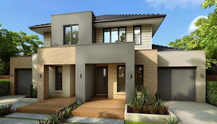 Duplex designs australia house plans pinterest for Duplex plans australia