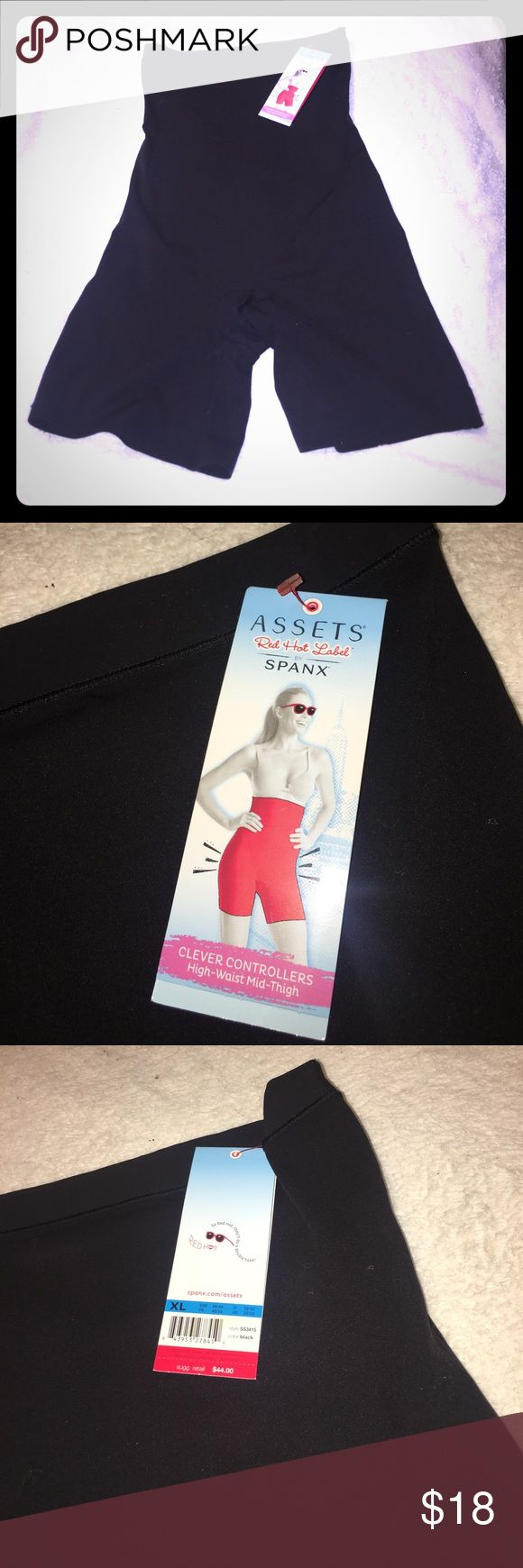 New Assets by Spanx High Waist Mid-Thigh Shaper XL New Assets Red Hot Label by Spanx High Waist Mid-Thigh Shaper xl SPANX Intimates & Sleepwear Shapewear