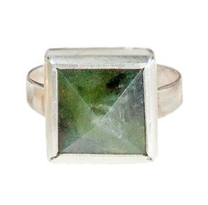 Manuka Ring Silver — Marama