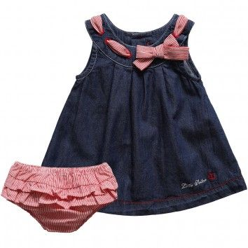 cute baby Denim Dress