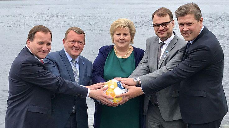 Nordic Prime Ministers massively troll Trump's Saudi Arabia orb moment (PHOTO) https://www.rt.com/viral/390209-trump-orb-nordic-leaders/