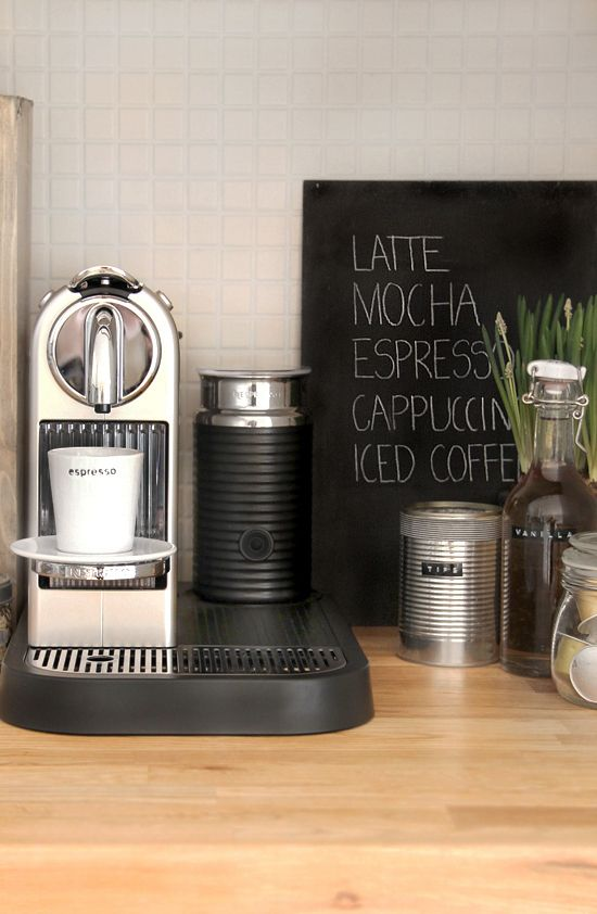 Make the chalkboard sign in the back and put at my coffee station. :-)