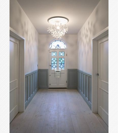 Hallway & panelling