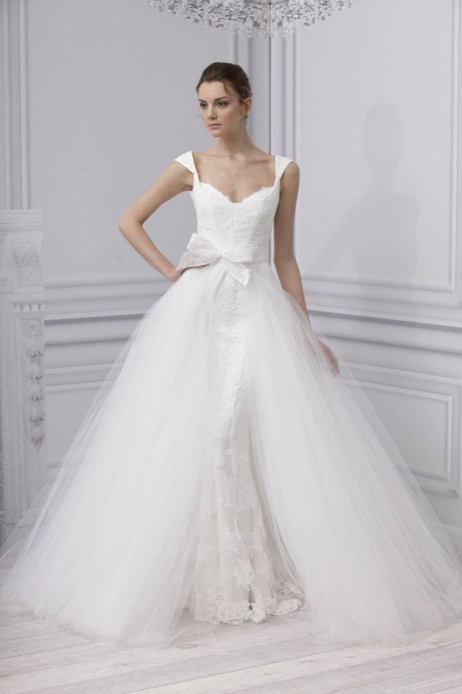 @Monique Otero Lhuillier Bridal Dress