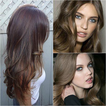 Оттенки светло-каштановых волос
