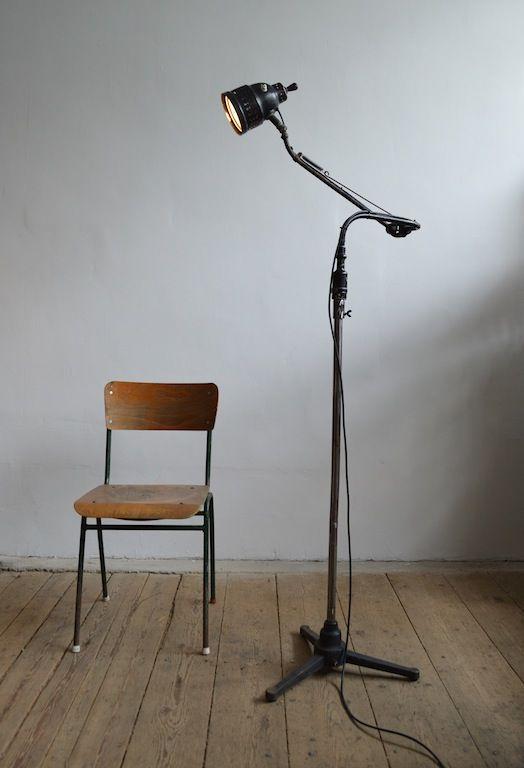 Industrial-medical floor lamp (artKRAFT Industrial design)