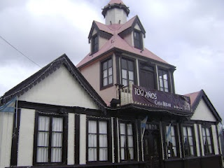 Beban House - It was one of the most important and ambitious buildings of the city of Ushuaia for a long time. Besides being the enabling environment of countless social events of significance for the city.
