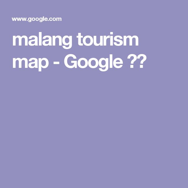 malang tourism map - Google 검색