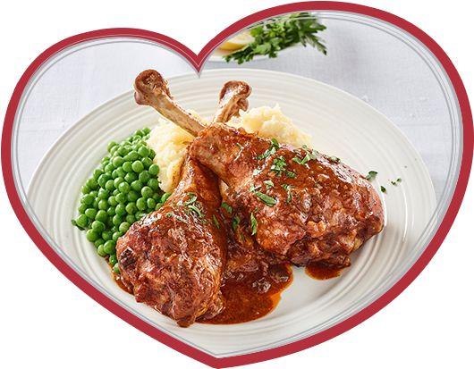 Easy Turkey Drumstick Goulash - Ingham's Chicken