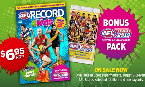 AFL Record 4 Kids!